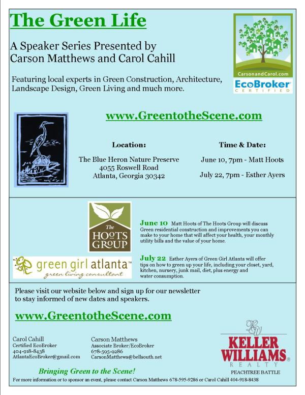 the green life flyer-one page